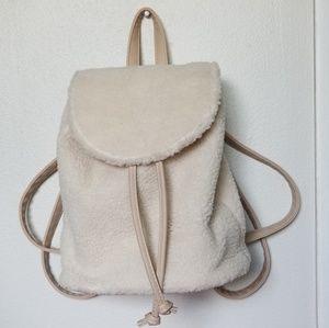 Stylish Sherpa Backpack